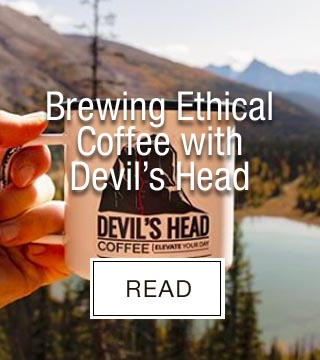 Brewing Ethical Coffee with Devils Head