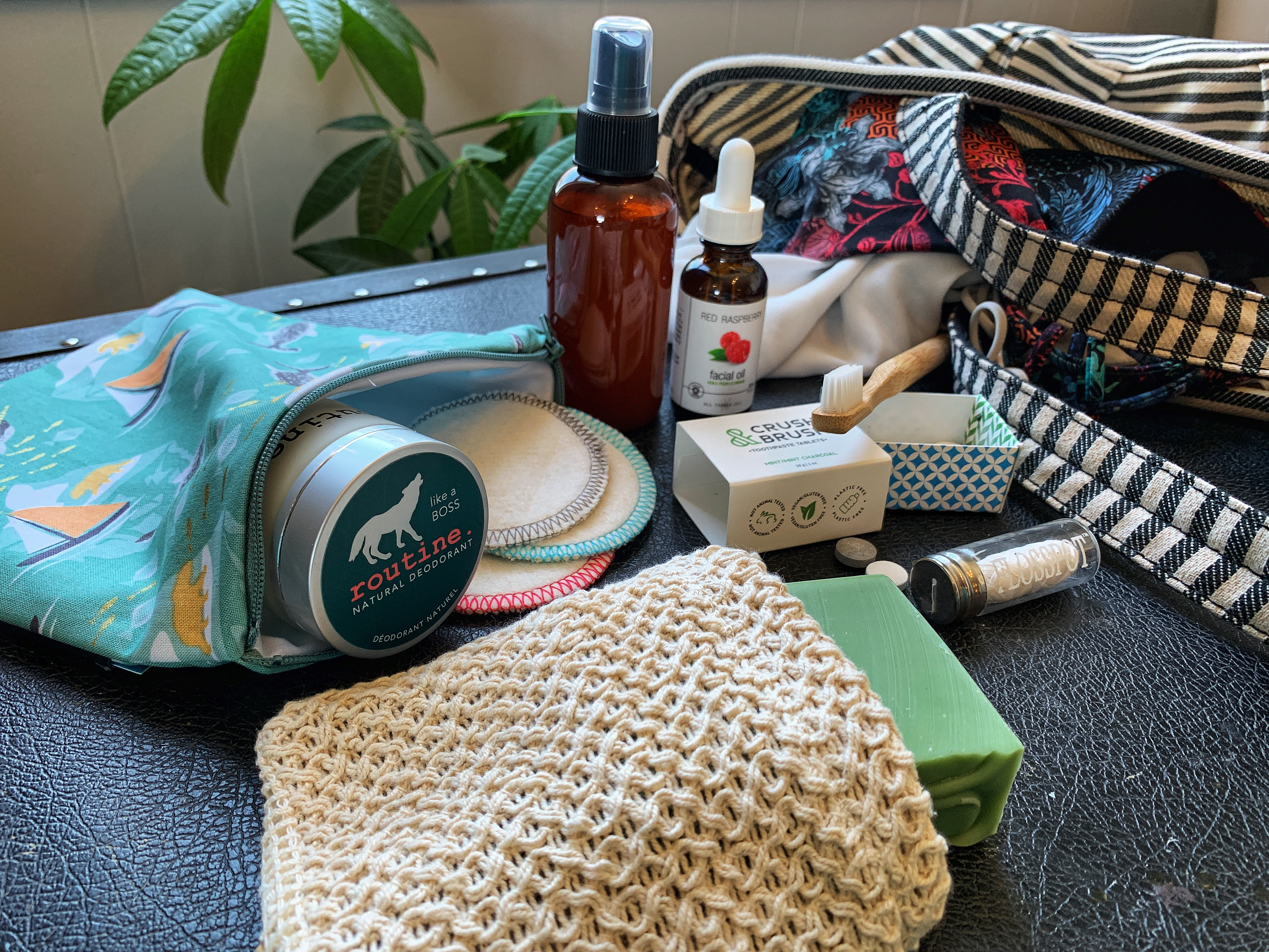 A Zero Waste Travel Hygiene Kit