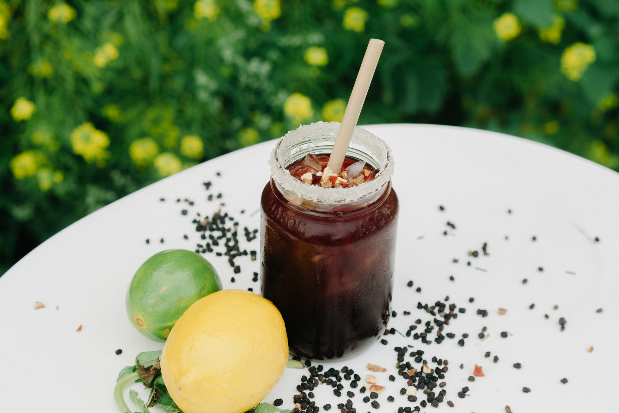 This twist on a classic cocktail sour features Pineapple Iced Tea Kombucha from Wild Tea Kombucha.
