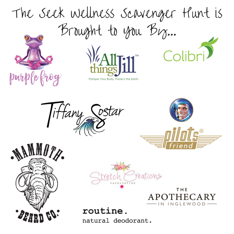 Seek Wellness Online Scavenger Hunt Partners